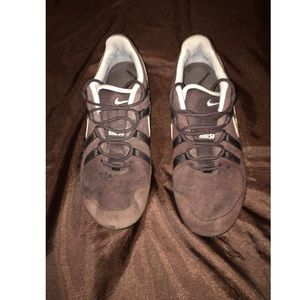 Nike Womens Brown Shox Athletic Gym Shoes Size 8.5